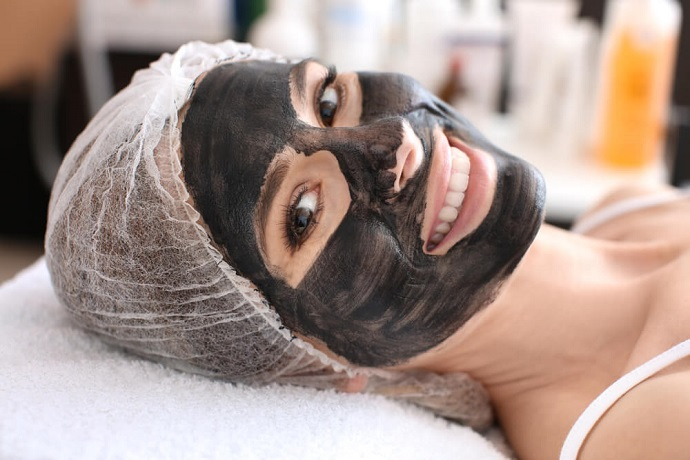 Желатиновая маска с углем